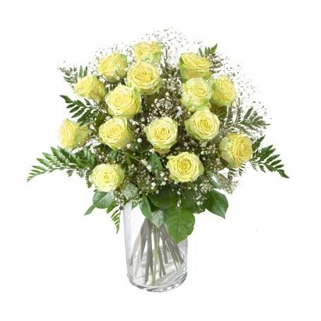 Lilly & Roses Wreath