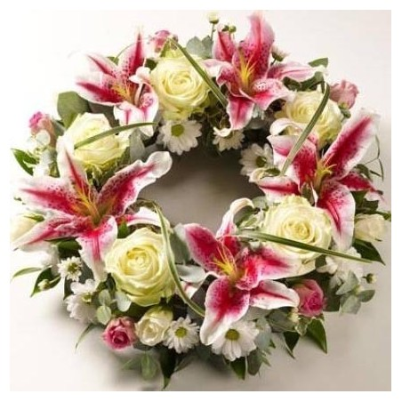 red gerbera & chocolate basket
